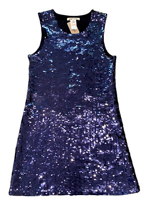Alice+Olivia Blue Sequin Dress