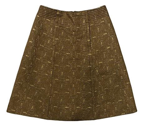 Chloe Pleated Skirt Brocato