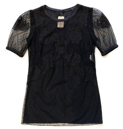 Dolce & Gabbana Lace & Silk Blouse