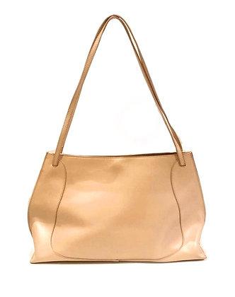 Furla Nude Leather Tote Bag