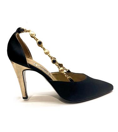 Gianni Versace Vintage Embellished Shoes