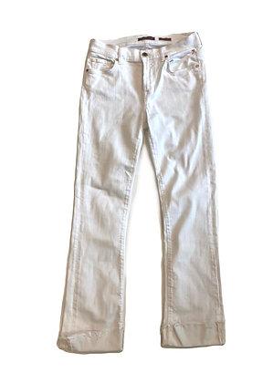 7 Seven White Bootcut Jean