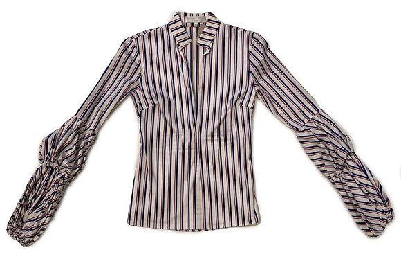 Caroline Constas Striped Blouse