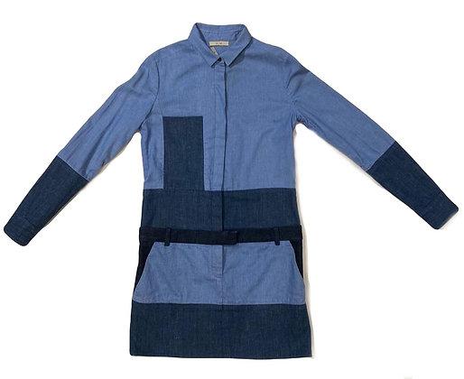 Celine Denim Patchwork Dress