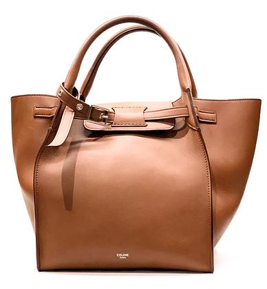 Celine Caramel Leather Big Bag With Strap Bag