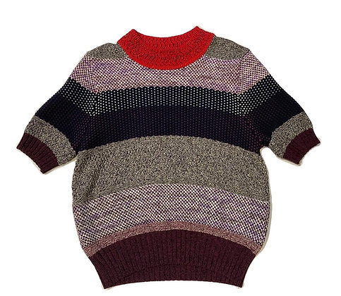 Bottega Veneta Short-Sleeve Sweater