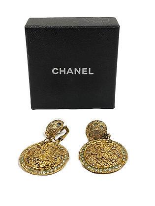Chanel Vintage  Drop Earrings