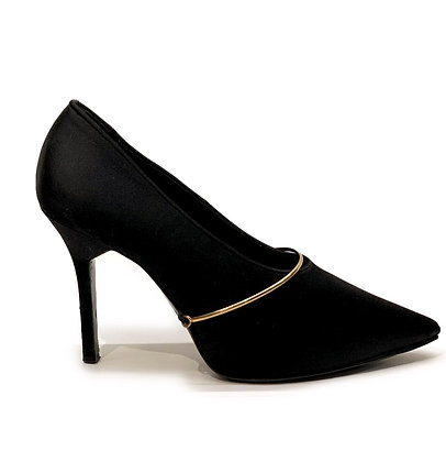 Givenchy Satin Pointed-Toe Shoes