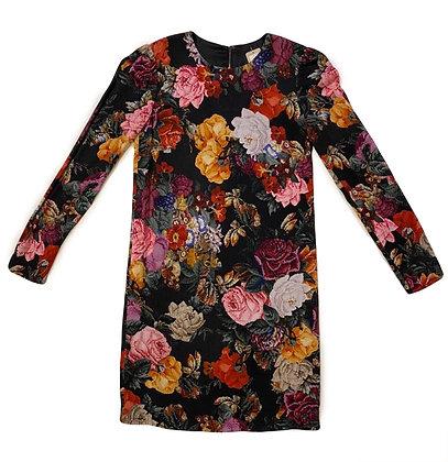 Dolce & Gabbana Floral Pixel Dress