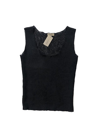Emporio Armani Black Knitted Top