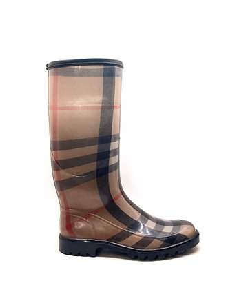 Burberry Monogram Rain Boots