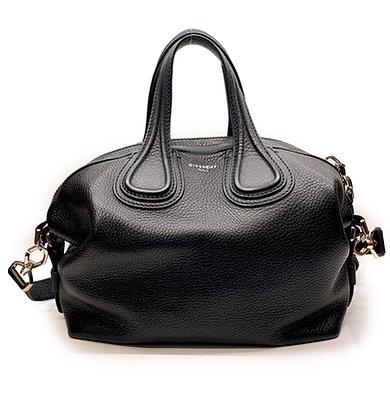 Givenchy Nightingale Black Leather Bag