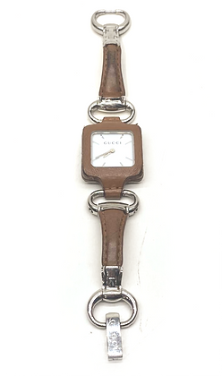 Gucci Caramel Club Women's Special Edition Lady Stainless/Leather Watch