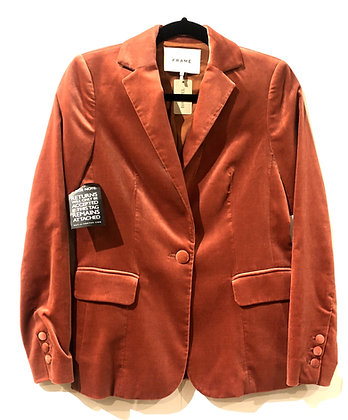 Frame Velvet Jacket