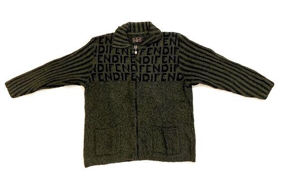 Fendi Vintage Zip Cardigan