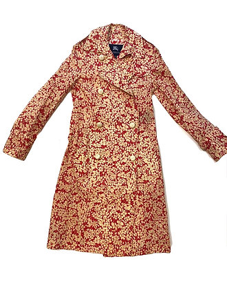 Burberry Floral Trench