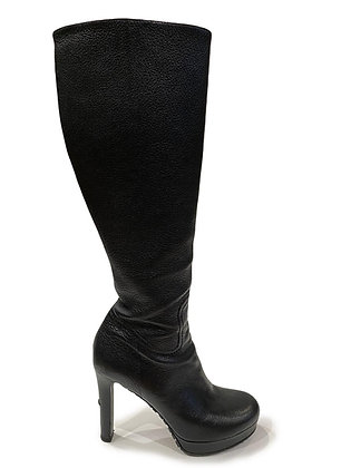 Gucci Knee Hight Leather Boots