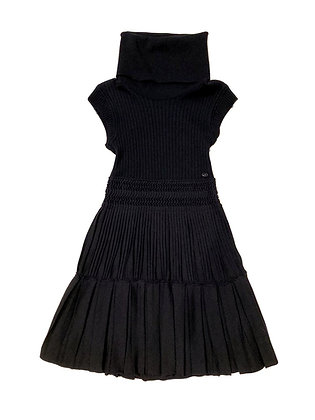 Chanel Turtle Neck Knit Dress 2008 Autumn Collection