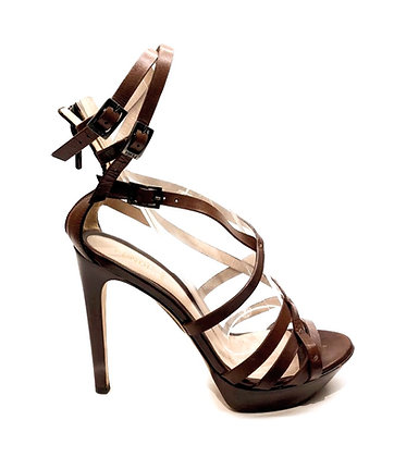 Fendi Leather Strappy Sandals