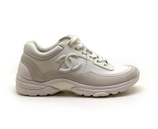 Chanel CC Logo Runner Sneakers