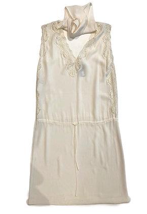 Alberta Ferreti Silk Dress