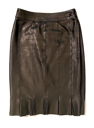 Chanel Leather Skirt 2004 Autumn Collection