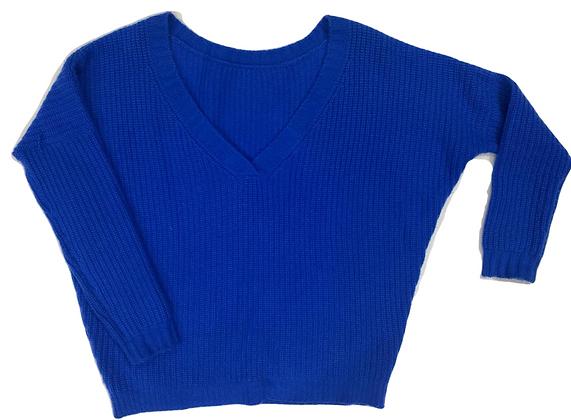 No Name Blue Cashmere Sweater