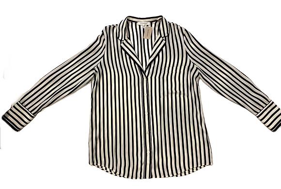 Frame Striped Pijama Blouse