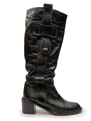 Chloe Knee High Leather Boots
