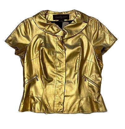 Louis Vuitton Leather Golden Vest