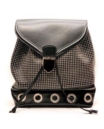 Alexander McQueen Legend Studded Chain-Strap Backpack