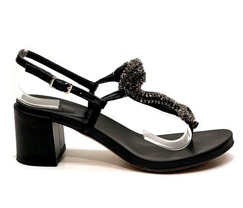 Carus Crystal Snake Sandals