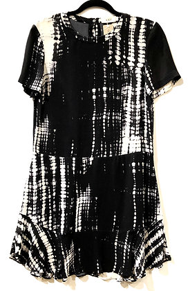 ALC Black and White Dress