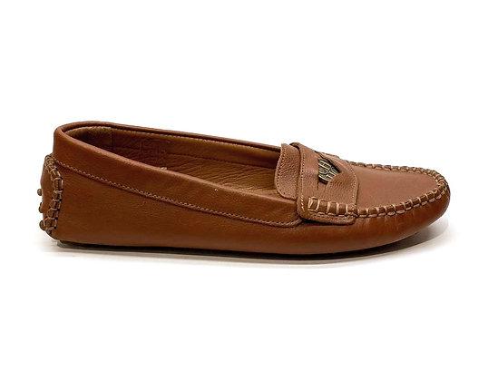 Carolina Herrera Leather Loafers