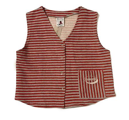 Fiorucci Vintage Striped Vest