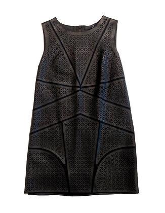Elie Tahari Leather Dress
