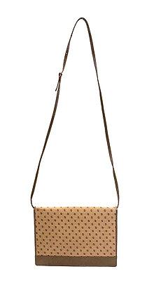 Fendi Vintage FF Pattern Flap Crossbody Bag