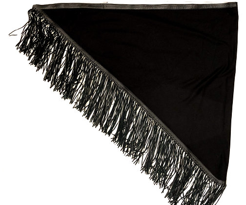 Cashmere and Leather Shawl