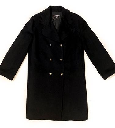 Chanel 100% Cashmere Coat