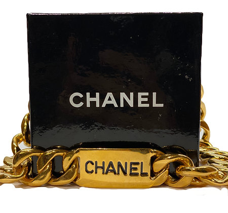 Chanel 1980´s  Chain Belt