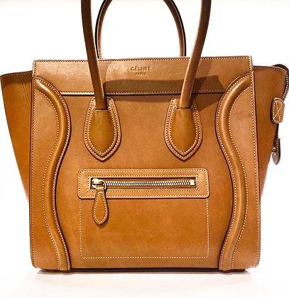 Celine Barenia Luggage Bag