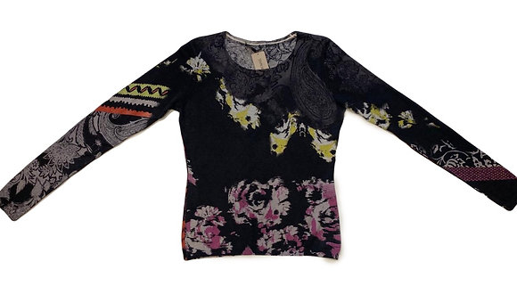 Etro Floral Sweater