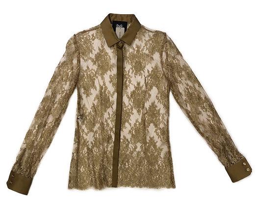 Dolce Gabbana Lace Blouse