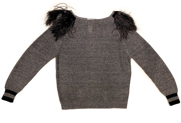 Brunello Cuccinelli Sweater With Feathers