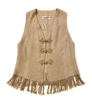 Dolce & Gabbana Fringe Vest