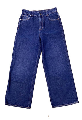 COS Relaxed Straight Leg High Waist Jeans