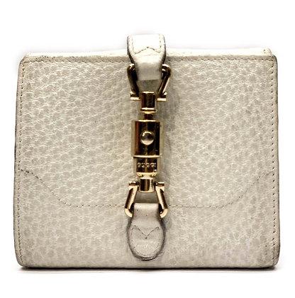 Gucci Piston Lock Square Wallet