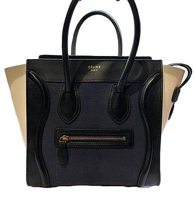 Bag Celine Phantom Bone/Dark Blue
