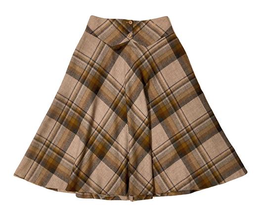 Christian Dior Vintage Chest Pleated Skirt