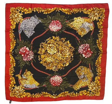 Ferragamo Silk Scarf 90 cm